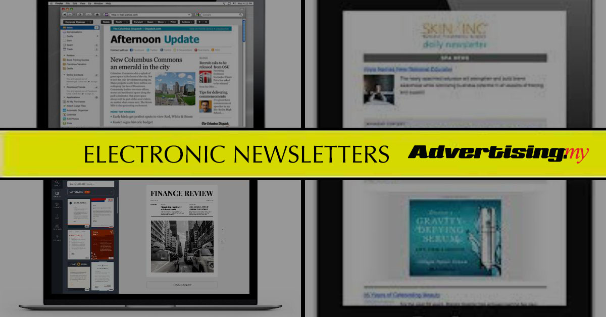 How to deliver your message via electronic newsletters