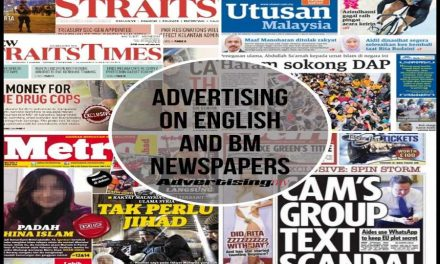 Advertising on English and BM Newspapers