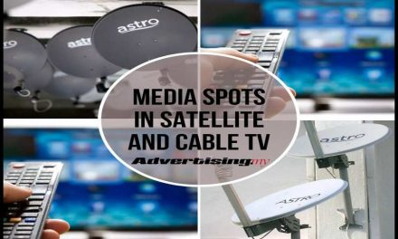 Media spots in Satellite and Cable TV