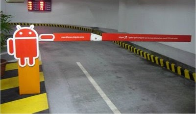 Media spaces in Car Parks