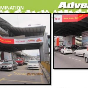 Titiwangsa Monorail Domination Malaysia Advertising Rate
