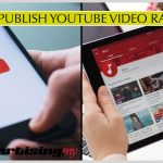 How To Publish YouTube Video Rank High