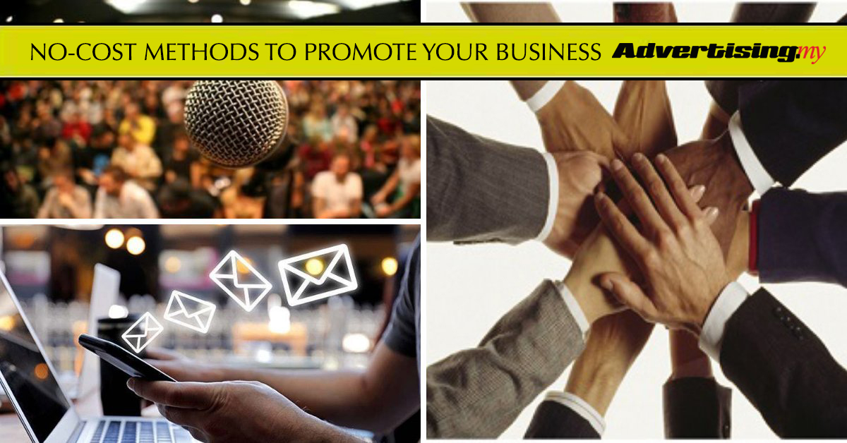 NO-COST METHODS TO PROMOTE YOUR BUSINESS