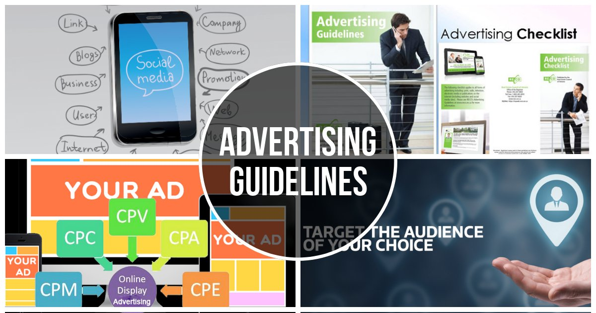 advertising guidelines