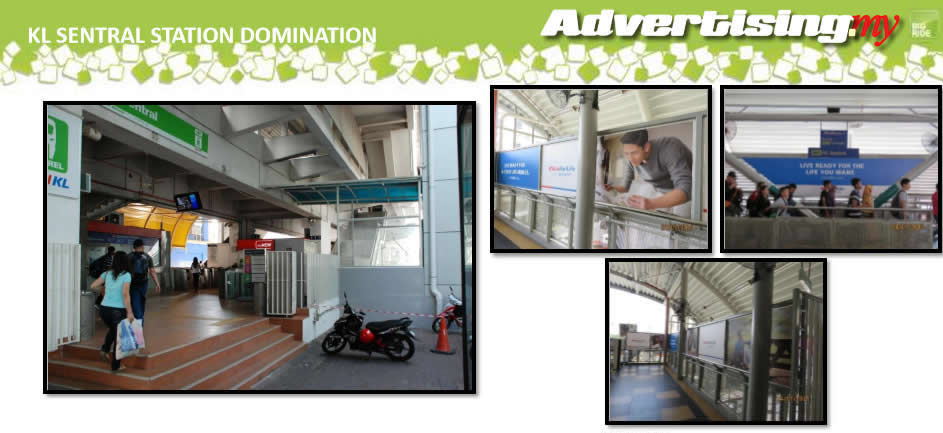 Sentral Monorail Stesen Domination Malaysia Advertising Rate