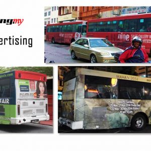 Metrobus Advertising Wrap in Klang Valley
