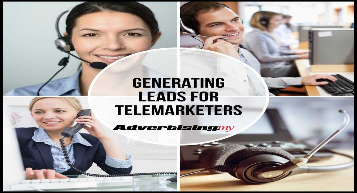 Generating leads for telemarketers