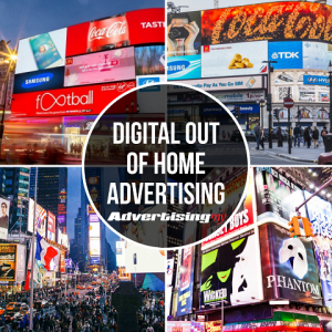 Digital Out of home advertising